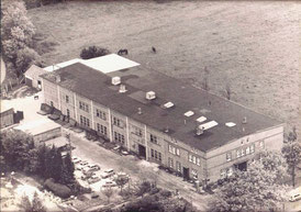 The old company building when Bruns KG constructed agricultural machinery