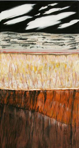 Acryl auf Leinwand, 130 x 70 cm