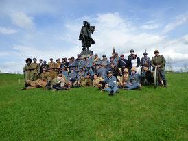 Reconstitution Musée de la Grande Guerre Meaux  2016