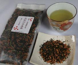 香ばしい玄米茶