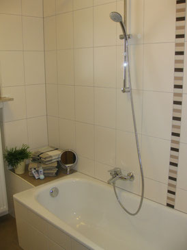 Sanitärbereich - neu renoviert