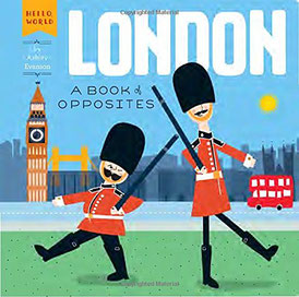 london travel baby book