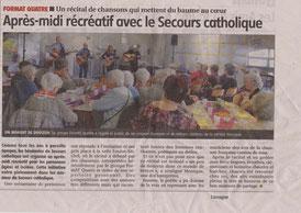 25/03/2017 - Cournon d'Auvergne - Secours Catholique