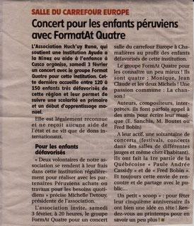 """Chamalières """"Carrefour de l'Europe"""" Journal """"La Montagne"""""""