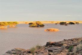 Guelta temporaire