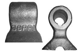 Doppelseitig schwingende Schlegel für SEPPI M. MINIFORST pickup Mulcher