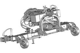 SEPPI M. Unterstockbearbeitung PORT-X Geräteträger