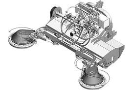 SEPPI M. Unterstockbearbeitung X-FAST Schnellkuppelsystem