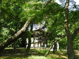 旧天瑞寺寿塔覇堂
