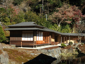 禅宗風の日本庭園