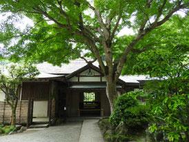 浄智寺 書院玄関