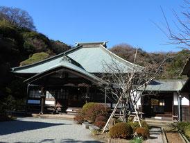 海蔵寺境内・本堂