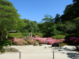 枯山水庭園