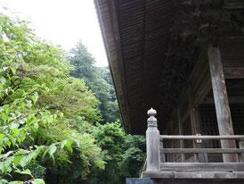 祖師堂の回廊