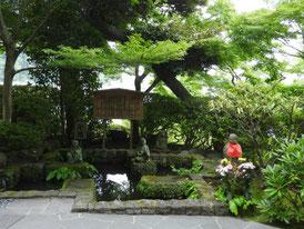 地蔵堂の地蔵像