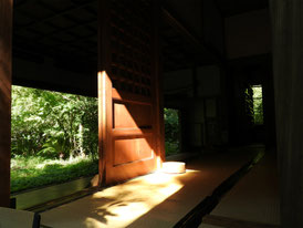 桂昌庵の弓道場