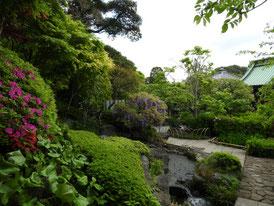 境内の日本庭園