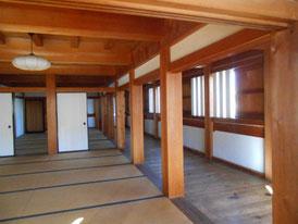 巽櫓の部屋復原