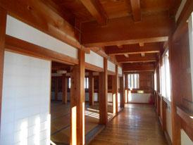 巽櫓の部屋回廊