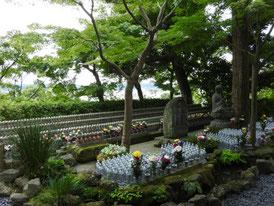 地蔵菩薩の霊域