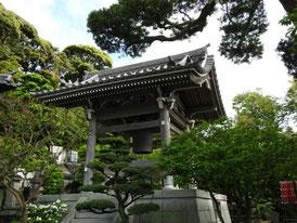 鐘楼 鎌倉で3番目に古い梵鐘