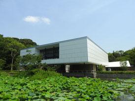 鎌倉文華館と源氏池
