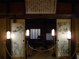 松平竹千代時代に12年間人質になっていた部屋復原