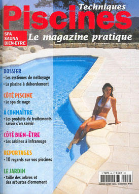 Article de presse de Technique Piscines sur aubade piscine