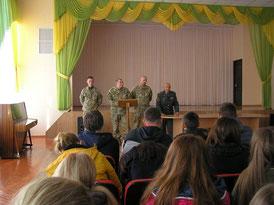 Зустріч з військовослужюовцями. 12.10.2015