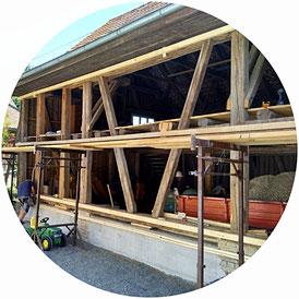 Tscharner Holzbau, Holzbau, Zimmerei, Hauptwil, Umabau, Renovationen
