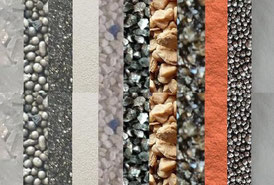 Strahlmittel, Schleifmittel, Sandstrahlen, Sandstrahlmittel, Strahlgut, Strahlsand
