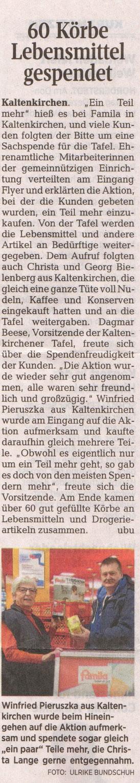Segeberger Zeitung 13.12.2017