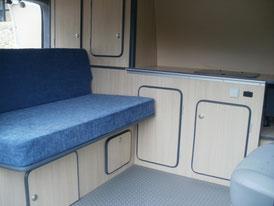 Aménagement camping-car VW Transporter