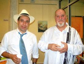 chapeau l'artiste n°2 avec le peintre jean françois dettori