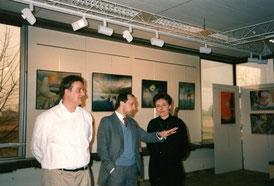 espace météo avec frédérique montane sculpteur -1991
