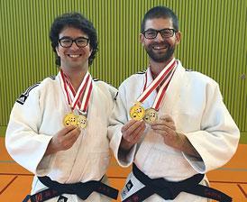 Schweizermeister 2016, Schulleiter Thomas Willi & Patric Bürgi, Judoschule Regensdorf, Judo, Kata
