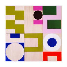 Ellen Roß, squares&circles n°16, 2019