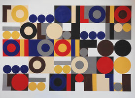 Ellen Roß, Collage, konkrete Kunst