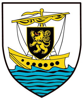 Les armoiries de la ville de Galway