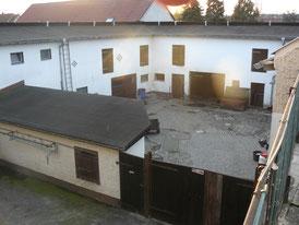 Innenhof, ehem. Pferdeställe