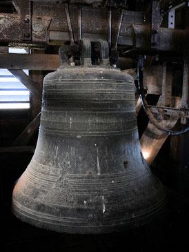 Cloche Marie Sainte Léonarde fondue le 8 juin 1813  - Marraine Mme Corbeau-Dubourg - Sonne les heures