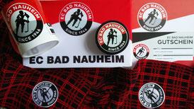 Fan-Artikel des EC Bad Nauheim