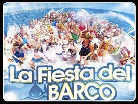 Fiesta en barco en Sanlúcar