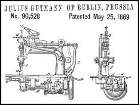 1869 US 90.528 Julius Gutmann