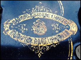 """F&R 915.386  (1901)  TS 3-1  """"Snowflakes"""""""