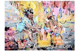 """Titelblatt des Kalenders """"Bewegte Farben"""" von Zoë MacTaggart"""
