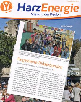 HarzEnergie Magazin Juni 2013