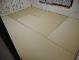 畳らしくない畳 和紙畳