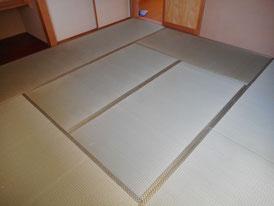 イグサがボロボロしない畳の代表格「上級品」