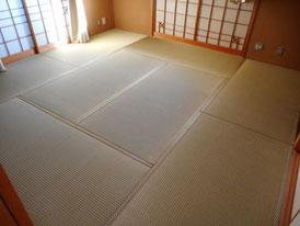 熊本県産 地が厚い畳